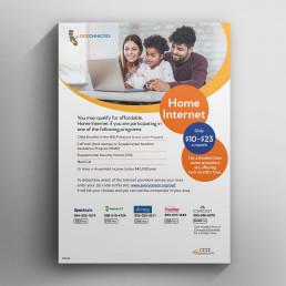 Home Internet Flyer Mockup